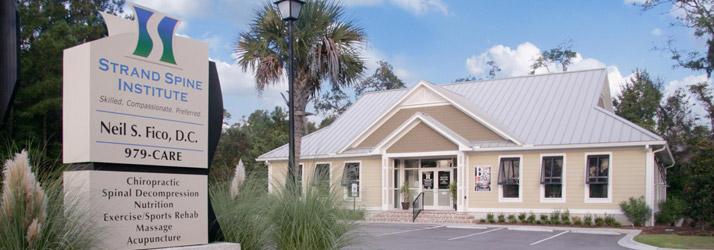 Chiropractic Pawleys Island SC Office Building Hero
